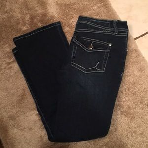 INC Denim jeans bootleg regular fit 8P stretchy